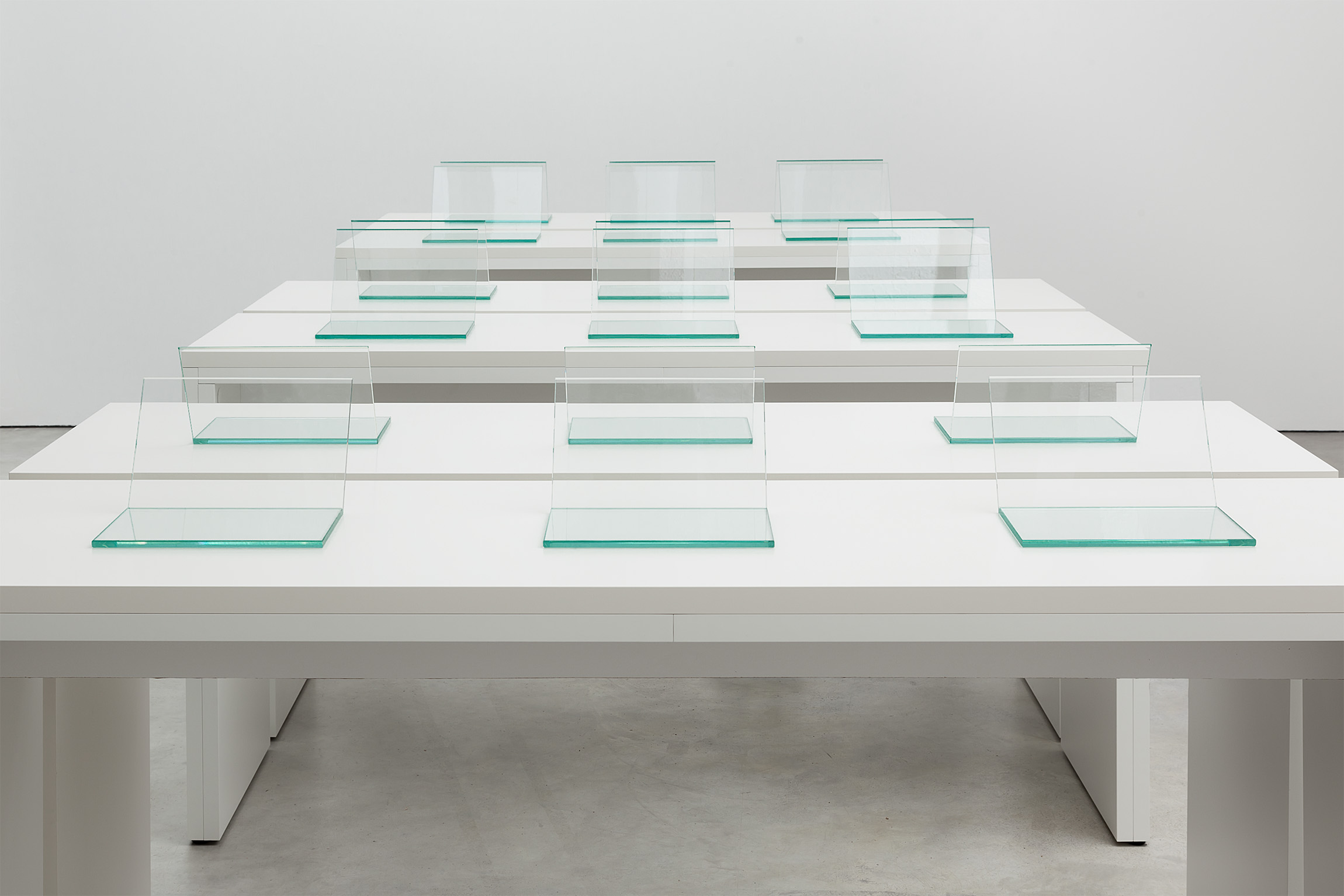 Installation view, Content is King! at Galerie Gebr. Lehmann, Berlin, 2014