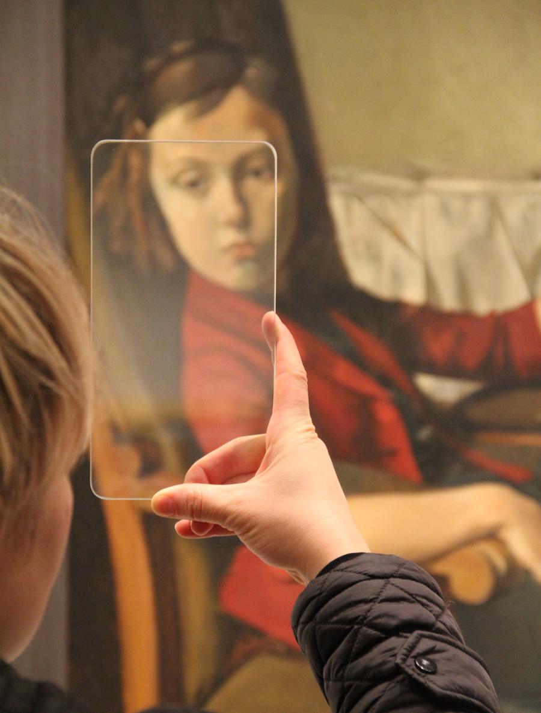GlassPhone ( balthus detail ), 2014